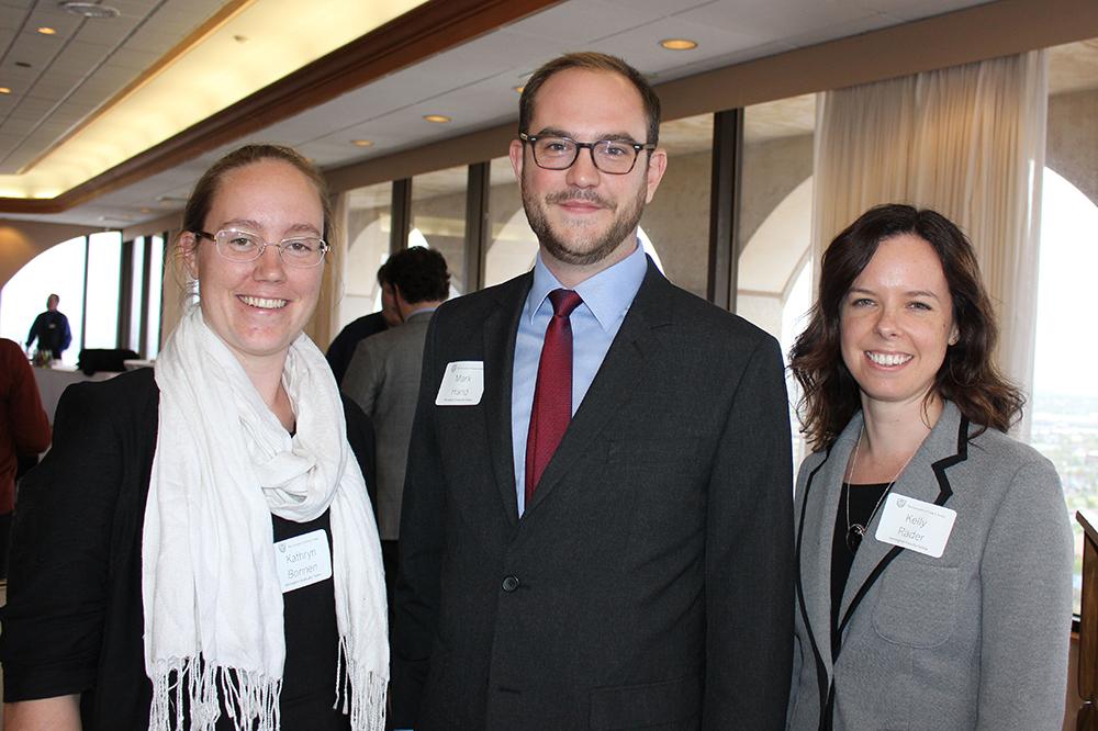 Kathryn Bonnen, Mark Hand, and Kelly Rader